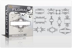 Floral vector pack 62 Floral floral