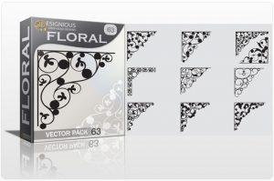Floral vector pack 63 Floral floral