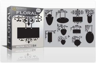 Floral vector pack 64 Floral floral