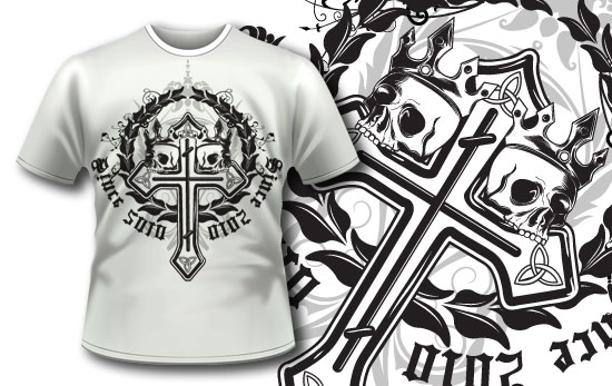 T-shirt design 226 T-shirt Designs and Templates heraldry