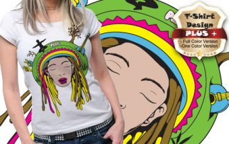 T-shirt design plus 30 T-shirt Designs and Templates [tag]