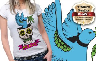 T-shirt design plus 32 T-shirt Designs and Templates [tag]