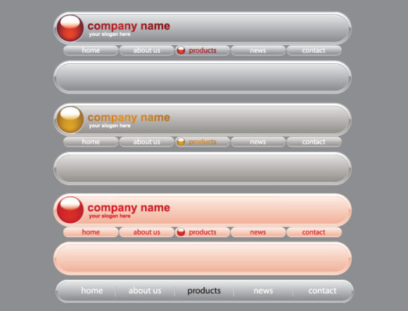 Web navigation vector pack 1 Web and soft [tag]