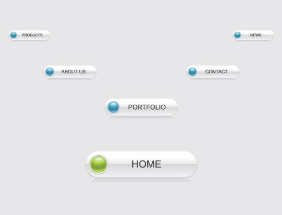 Web navigation vector pack 4 Web and soft [tag]