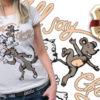 T-shirt design plus 41 products cat mouse dog shirt design plus 40