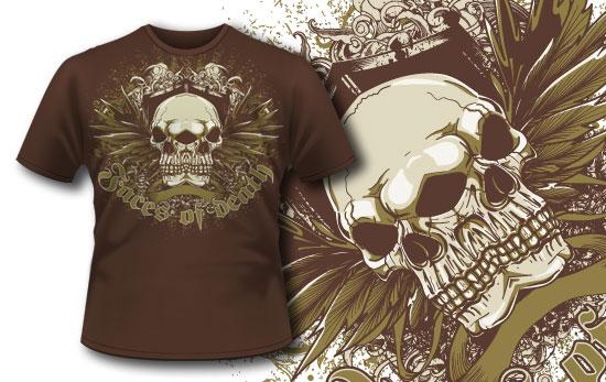 T-shirt design 231 T-shirt Designs and Templates vector