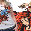 T-shirt design plus 41 T-shirt Designs and Templates women