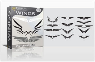 Wings vector pack 15 Wings wings