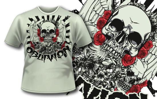 T-shirt design 253 T-shirt Designs and Templates vector