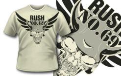 T-shirt design 255 T-shirt designs and templates vector