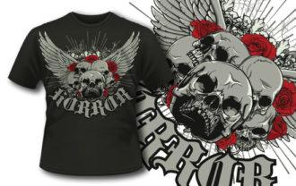T-shirt design 259 T-shirt Designs and Templates vector