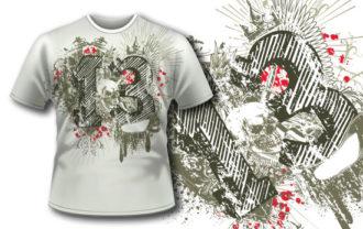T-shirt design 233 T-shirt Designs and Templates vector