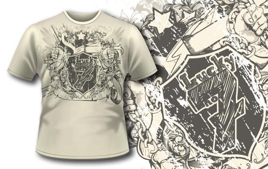T-shirt design 234 T-shirt Designs and Templates vector