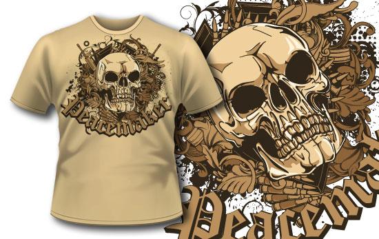 T-shirt design 237 T-shirt Designs and Templates vector