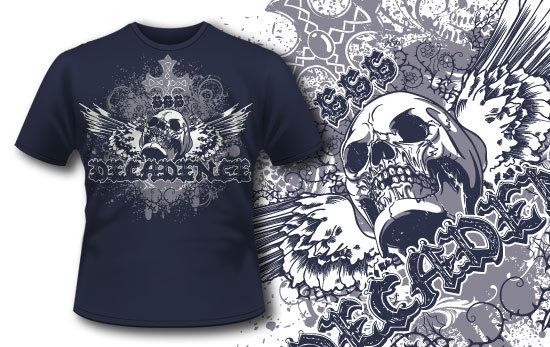 T-shirt design 241 T-shirt Designs and Templates vintage