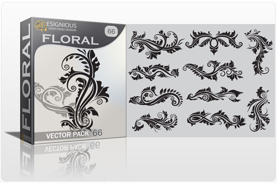 Floral vector pack 66 Floral floral