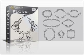 Floral vector pack 67 Floral floral