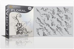 Floral vector pack 68 Floral floral