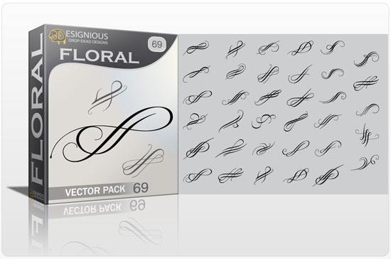Floral Vector Pack 69 Floral floral