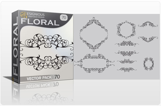 Floral vector pack 70 1