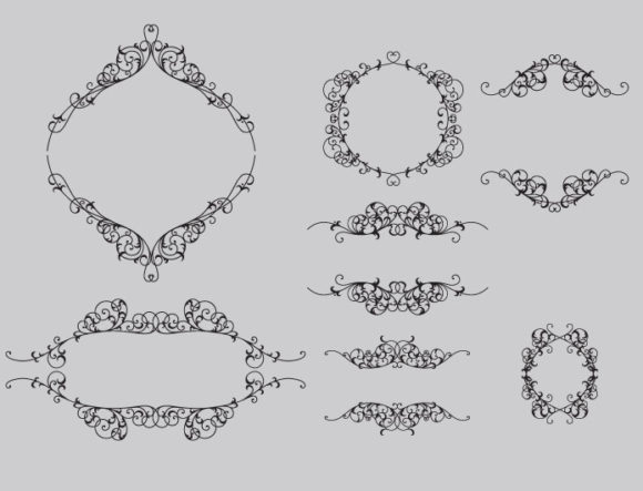 Floral vector pack 70 2