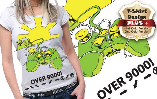 T-shirt design plus 55 1