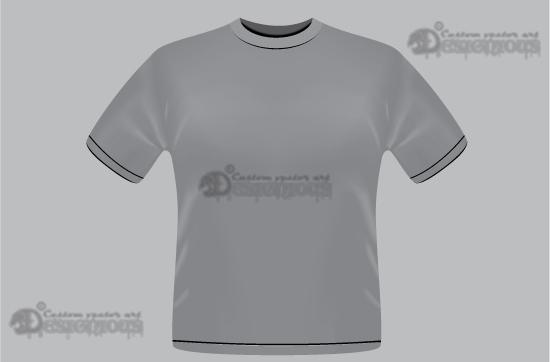 T-shirt garments vector pack 1 products 1 t shirt garment vector mesh