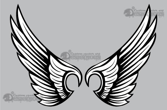Wings vector pack 10 7