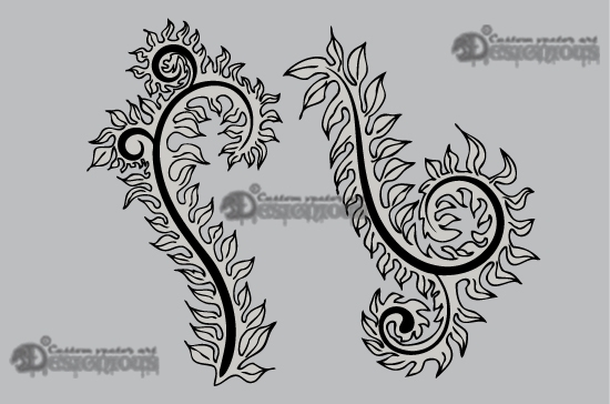 Floral vector pack 10 products 10 vector floral ornament