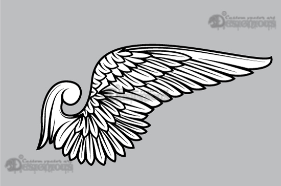 Wings vector pack 11 products 11 swan vector wing