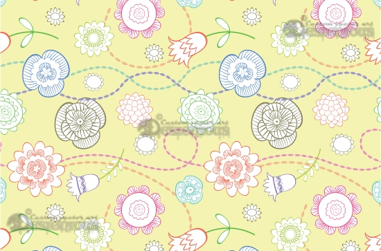 Seamless patterns vector pack 19 7