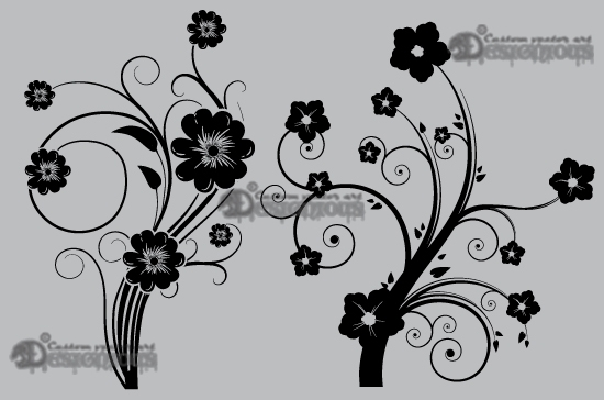 Floral vector pack 19 products 19 vector floral ornate 1
