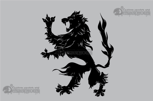 Griffins vector pack 2 products 2 vector negative lion griffin