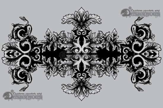 Floral vector pack 25 products 25 vector rococo floral scroll