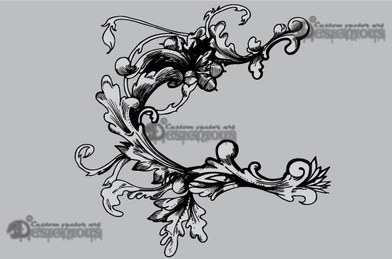 Floral vector pack 26 products 26 vectort hazel leaf