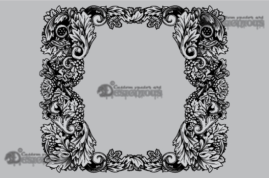 Floral vector pack 27 products 27 vector autumn floral frame