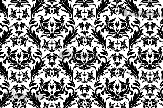Seamless Patterns vector pack 3 products 3 baroque vector floral pattern