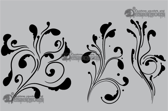 Floral vector pack 31 7