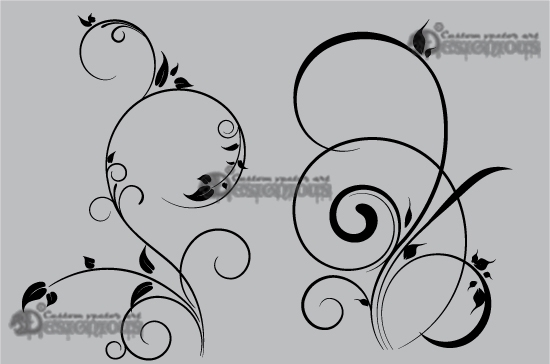 Floral vector pack 37 products 37 vector ornate floral