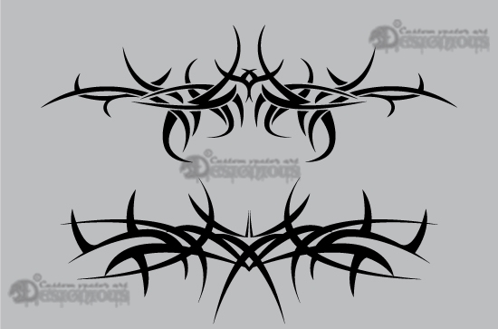 Tribal vector pack 4 products 4 tribal vector thorns