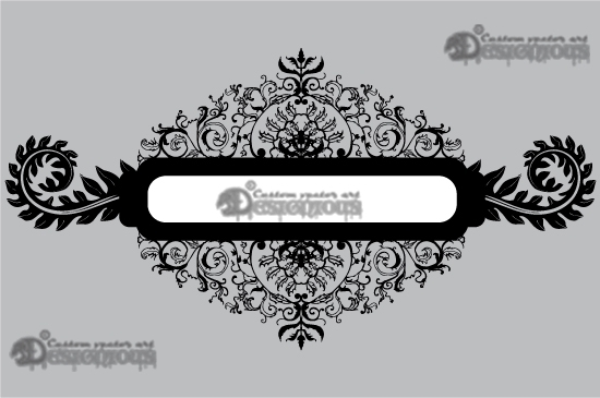 Floral vector pack 4 products 4 victorian floral frame