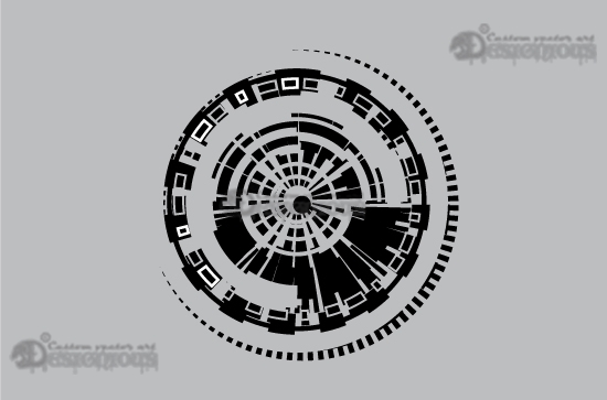 Tech shapes vector pack 5 3