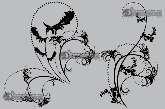 Floral vector pack 53 3