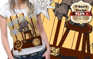 T-shirt design plus 68 T-shirt designs and templates [tag]