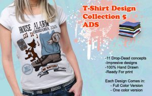 T-shirt designs collection 5 T-shirt collections [tag]