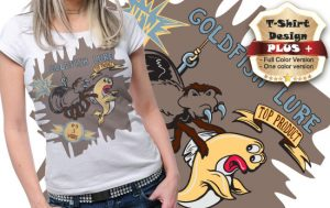 T-shirt design plus 67 T-shirt designs and templates [tag]