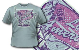 T-shirt design 266 T-shirt Designs and Templates vector