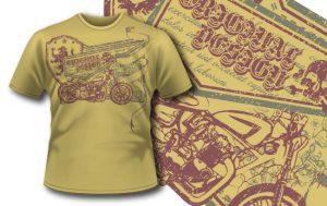T-shirt design 268 T-shirt designs and templates vector
