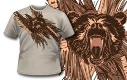 T-shirt design 270 T-shirt designs and templates vector