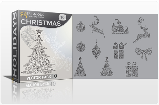 Christmas Vector Pack 10 1
